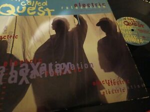 """A TRIBE CALLED QUEST """"  ELECTRIC RELAXATION """" ORIG  12"""""""