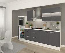 Küche Mit Küchenblock komplett küchen mit kühlschrank ebay