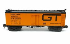 MTH 20-94382 Grand Trunk Western 36' Woodsided Reefer Car O Scale Trains