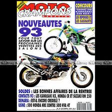 MOTO CRAMPONS N°91 HONDA 500 HRC SUZUKI 250 RM YVES DEMARIA JEFF STANTON 1992