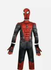 New Disney Store Marvel SpiderMan Costume Set Boys Spider-Man: Far from Home 7/8