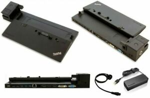 Lenovo 00HM917 Thinkpad Ultra Dock 40A2 HDMI DP LAN Docking Station *INCL PSU*