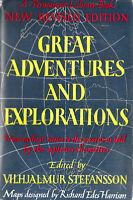 Vilhjalmur Stefansson Exploration Discovery Geography Navigators Atlas  Map