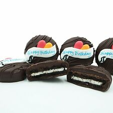 Philadelphia Candies Dark Chocolate Covered OREO® Cookies, Happy Birthday Gift