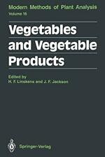 Vegetables and Vegetable Products, Linskens, F. 9783642848322 Free Shipping,,