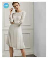 Ted Baker Diannah Lace Pleated Dress Size2 (UK10) BNWT RRP £299 Sold Out