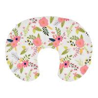 Newborn Baby Kids Breastfeeding Nursing Cotton U-Shape Pillow Cover Slipcover US
