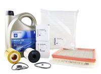 ORIGINAL OPEL ZAFIRA B 1.7 CDTi Inspektionspaket + Motoröl 5W30 dexos2 5 Liter