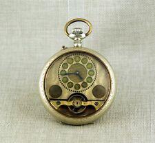 RARE 8 jours gousset HEBDOMAS Messieurs Horloge Montres fusee pocket watch montres de poche