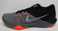Nike Size 10 Black Gray Training  Sneakers New Mens Shoes