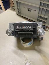 VINTAGE 73 Ford AM FM 8 Track 4 SPEAKER RADIO D3VA-19A168 Mercury Lincoln