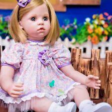 Bébé reborn fille toddler poupée réaliste bébés réalistes Silicone Poupées Jouets Cadeau