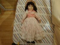Ceramic large doll (Possibly bru reproduction)