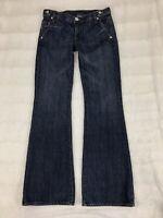 BCBG MAX AZRIA Womens Jeans Size 28 Joyce Flare Bootcut Dark Wash