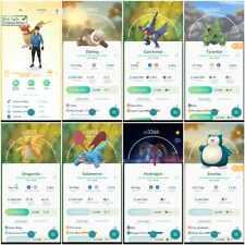 Pokémon Account Go Level 41   206 Shiny (Rare)  172 Legendary (Rare)  46,4*Rare