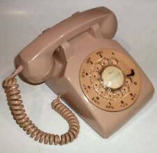 PHONE NORTHERN TELECOM NORTEL DIAL VINTAGE RARE BEIGE TESTED TABLETOP TELEPHONE