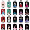 Cute Girl 18 -32 inch Protective Luggage Cover Elastic Suitcase Skin Case Cover