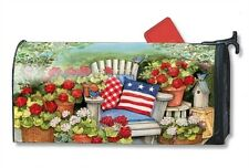 Magnet Works Patriotic Pillows Original Magnetic Mailbox Wrap Cover