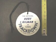 1950's Hoby Gilman TRACKDOWN for Western Rider set custom Hang Tag