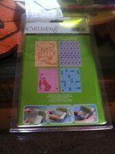 Provo Craft Cuttlebug Embossing Folder Nifty Fifties Bundle NIB
