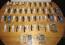 Star Wars Clone Wars Animated HUGE Clone Trooper and Droid Army Builder Lot 70+