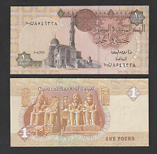 Egypt 1 Pound (2004) P50r Replacement #600/ banknote - Unc