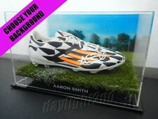 ✺Signed✺ AARON SMITH Boot PROOF COA New Zealand All Blacks 2017 Jersey World Cup
