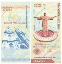 A piece of China 2016 Brazil 31th Olympic Game Banknote /Paper Money/ UNC