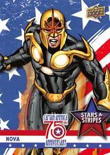 Captain America 75th Anniversary STARS & STRIPES Insert Card SS-10 / NOVA