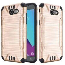 Étuis, housses et coques métalliques Samsung Galaxy J en silicone, caoutchouc, gel pour téléphone mobile et assistant personnel (PDA)