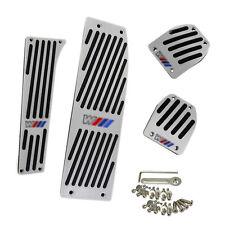 Silber Fußstütze Pedale Pedal Set für BMW E30 E36 E46 E87 E90 E91 E92 E93 M3
