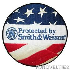Protected By Smith & Wesson Patch