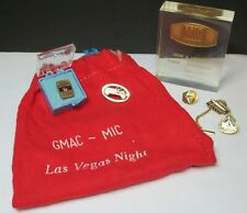 Vintage Estate Lot Of Automobile Advertising-DODGE Chrysler GMAC Awards Pins