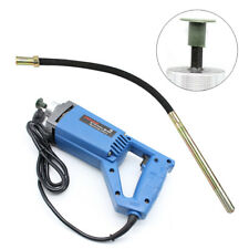 800W Electric Power Concrete Vibrator Tool Cement Finishing Bubble Remover 3/4HP