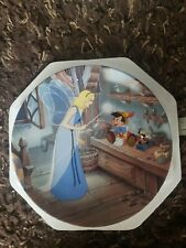 Bradford exchange Collector's plate Pinocchio Disney Treasured Moments