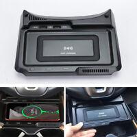 For Honda CRV CR-V 17-19 10W QI Wireless Phone Fast Charger + USB Charging Port