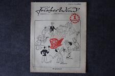 alte Zeitschrift Nr. 25 Frischer Wind 2.Jahrgang 15. April 1947