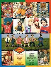 PUBLICITE ADVERTISING 114  1994  OLILILY  vetements enfants
