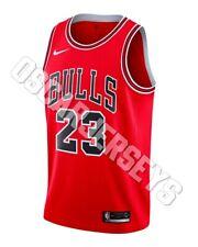 Maillot Shirt NBA Jersey Michael Jordan Chicago Bulls 23 Nike Swingman ICON RED