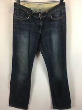 MAVI Olivia size 25/32 Low Rise straight leg dark denim jeans RRP $160