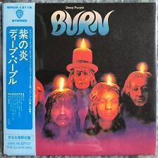DEEP PURPLE - Burn JAPAN MINI-LP SHM-CD WPCR-13115 w/OBI (2008 Remaster, Warner)