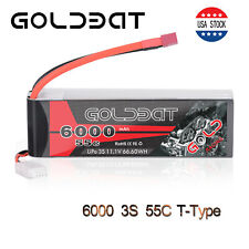 6000mAh 55C 11.1V 3S LiPo Battery Deans Plug for RC Car Truck Boat Helicopter