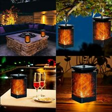 Deco Express Garden Solar Powered Lights, Pack of 2 Outdoor Led Lantern