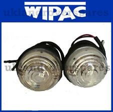 LAND ROVER DEFENDER FRONT SIDE LIGHT / LAMPS - PAIR OF SIDE LAMPS - UPTO 1995