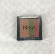 NEW Max Factor Eyeshadow Trio Compact #340 Rainforest - Brown, Green & Red