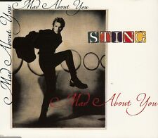 "CD MAXI 3 T BOITIER CRISTAL  STING   ""MAD ABOUT YOU"""
