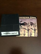Thunder Castle for Intellivision loose cartridge with overlays