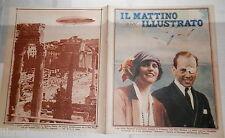 1928 Elsie Mackay e Hinckliffe Dirigibile Italia di Umberto Nobile Tibet Sannio