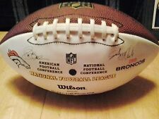 "Wilson ""The Duke"" Official Nfl Football-2010 Denver Broncos/Replica Autographs"