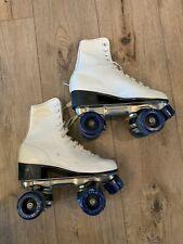 Vintage Roller Derby Womens Roller Star Roller Skates Size 5, White, Model U960